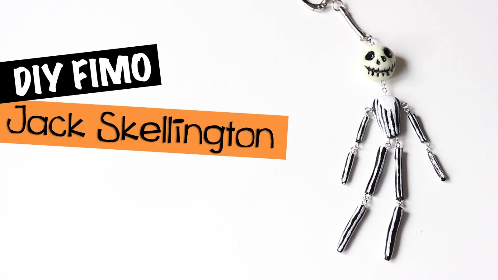 DIY # Tuto Halloween : Jack Skellington en fimo