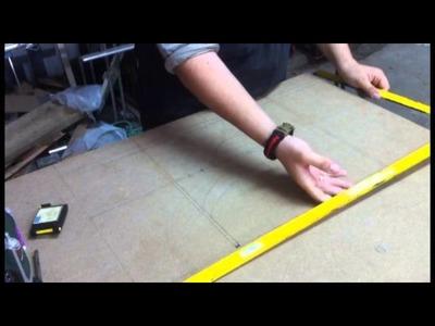 Fabrication de la table de defonceuse partie 1