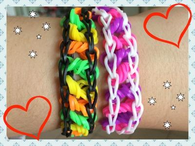 Loom #14 Bracelet Rotini (En Français)(Rainbow Loom)