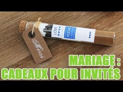 Spécial Mariage : Fabriquer des cadeaux pour les invités