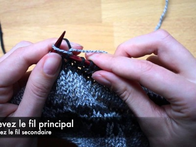 Technique de tricot : le jacquard