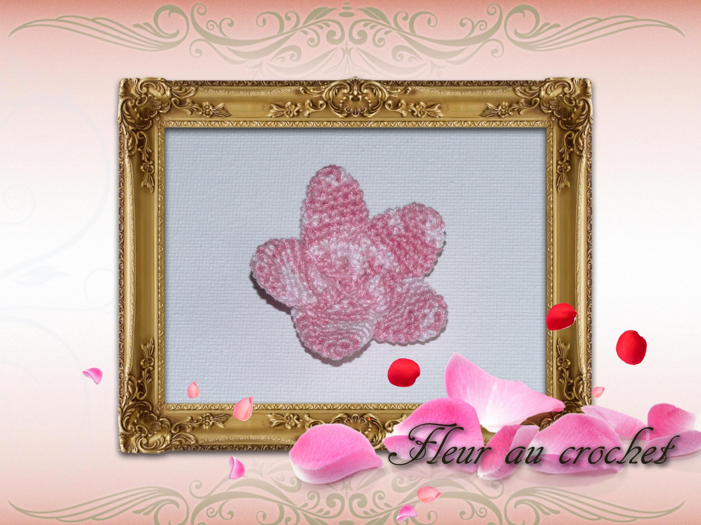 Tutoriel fleur au crochet