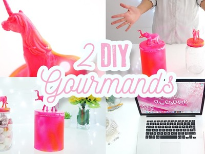 2 DIY GOURMANDS ♡