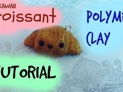 Croissant Polymer Clay Charm Tutorial ^ - ^