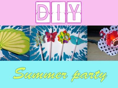 ✨ [DIY n°6] : Summer party - SIDJIE