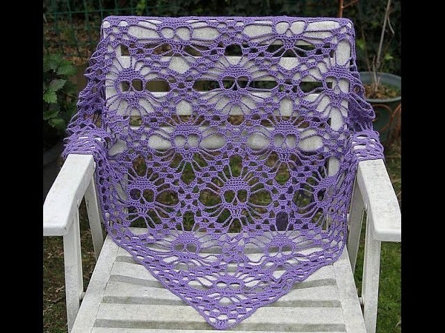 Techniques foulard en forme de crochet