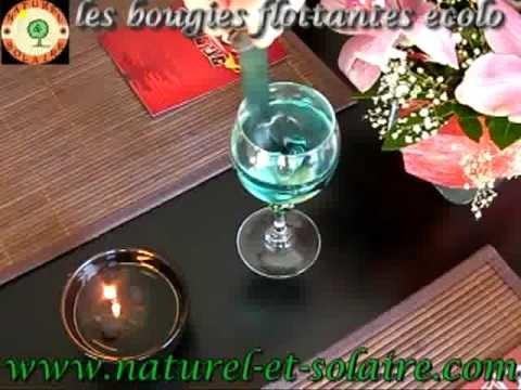 bougies flottantes huile parfum es colo pour photophores. Black Bedroom Furniture Sets. Home Design Ideas