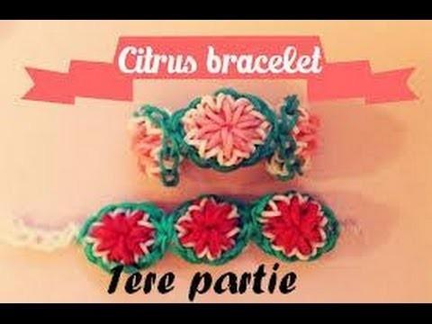 Bracelet citrus ou fleur partie 1