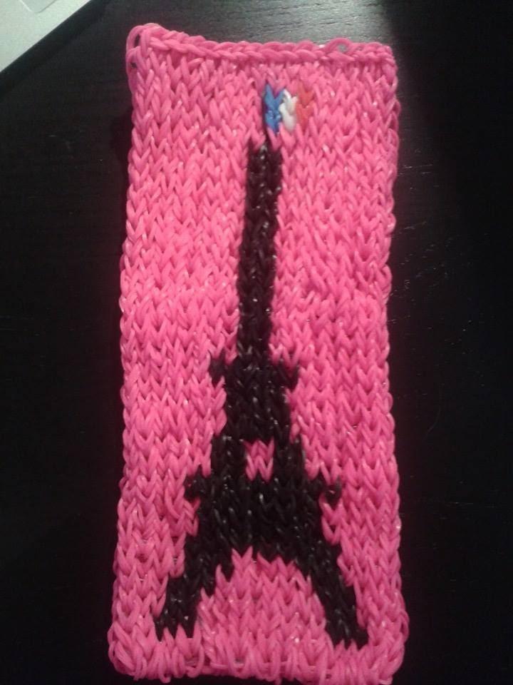 La Tour Eiffel Mural CraZ loom Tutoriel en Français