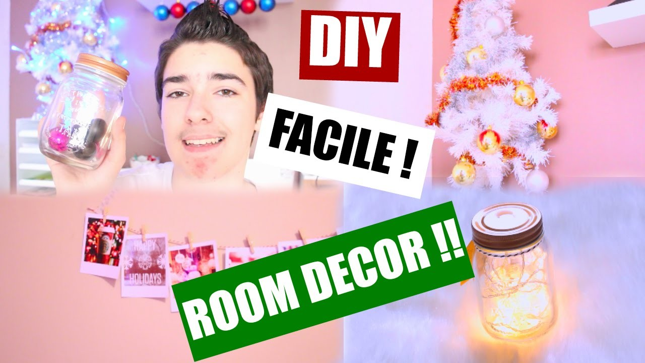 ROOM DECOR !! | DIY FACILE | TheoVideoVarious