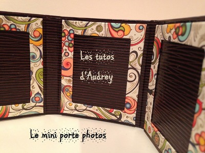 D.I.Y: [Cartonnage n°4]: le mini porte photos