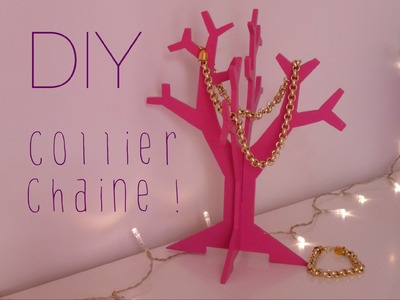 [DIY] Collier chaîne - Chain Necklace