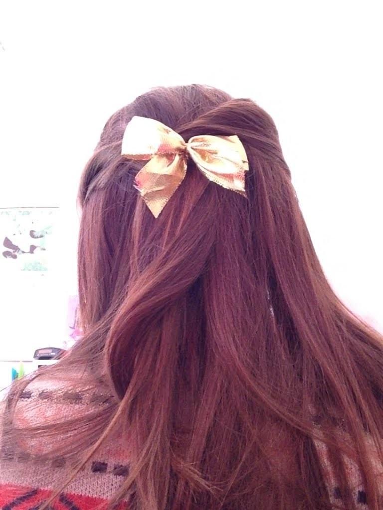 DIY noeud pour les cheveux