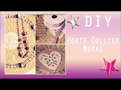 ✮ DIY Porte Collier Mural ✮ Necklace Organizer ✮ | Caly Beauty