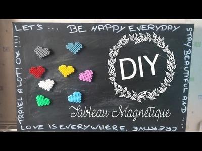 DIY ❤ Toile Magnétique Ardoise I SBC