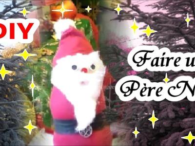 DIY : Un Père Noël en chaussette | Bricolage de Noël