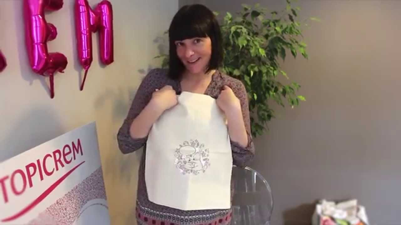 Tuto DIY: Customiser son Tote bag avec Topicrem