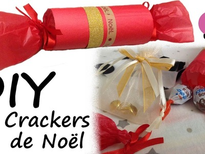 DIY #7 - Crackers de Noël [PimPomPerles.fr]. Christmas crackers
