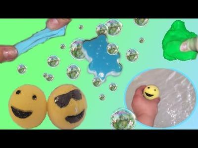 DIY: Bombe de bain emoji + Savon flubber + Savon gelée