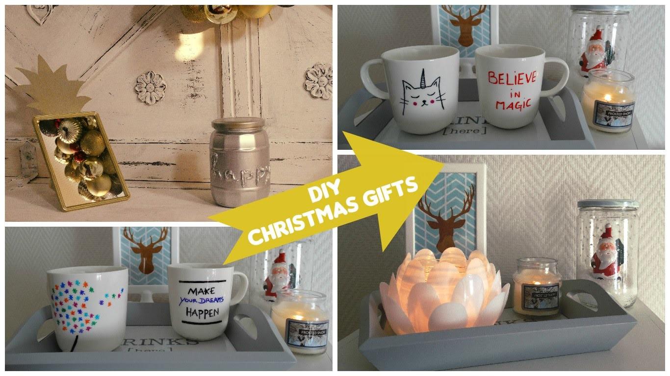 [ DIY ] Idées cadeaux de Noël. Christmas gifts #2