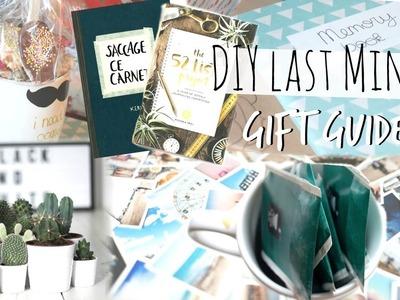 LAST MINUTE GIFT GUIDE | Idées & DIY !