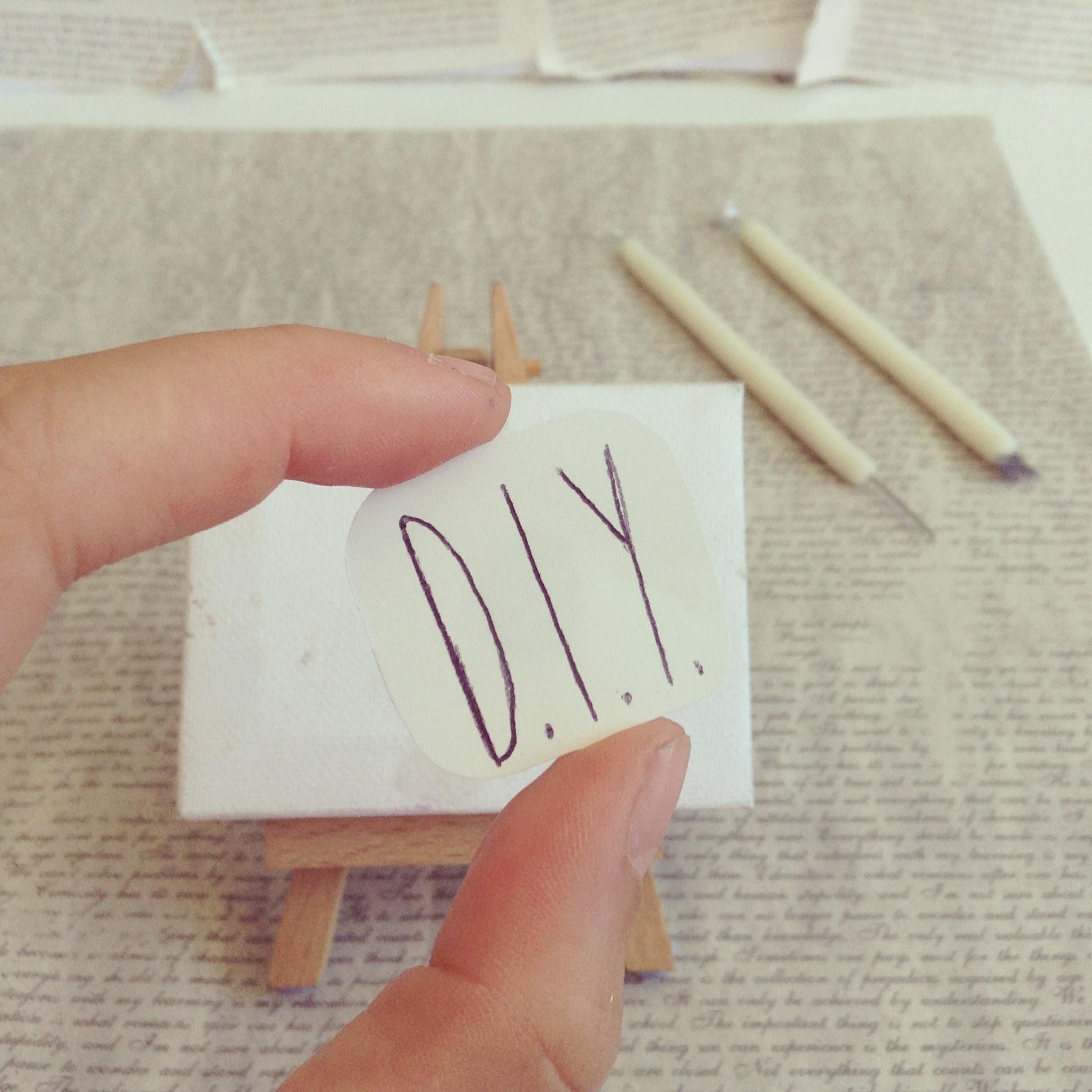 D.I.Y. : les outils de base fait mains !