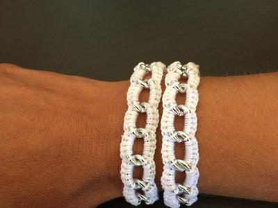 Tuto  facile bracelet au crochet