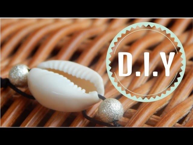 D.I.Y rapide : petit bracelet coquillage
