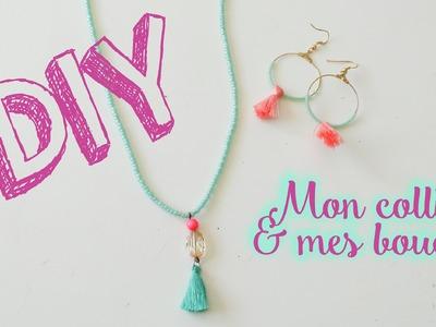 DIY #9 : Mes bijoux pompons ! + idée rangement