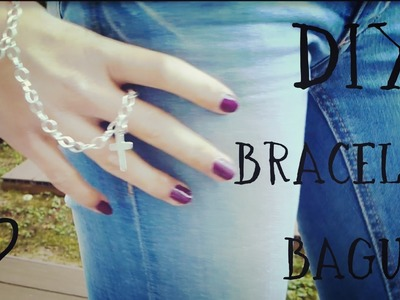 [DIY] Bracelet-Bague | Ring Bracelet with cross