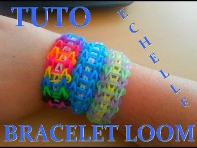 DIY : Bracelet Elastique 'Loom Bands' Echelle. (Français)