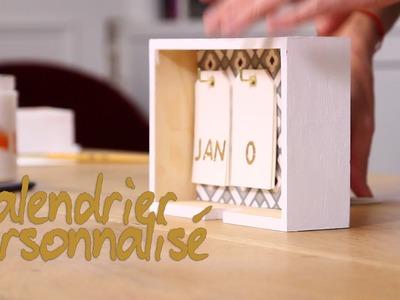DIy : Créer un calendrier personnalisé