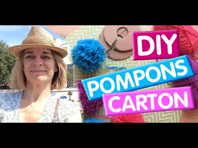 DIY ✂️ Faire des gros pompons