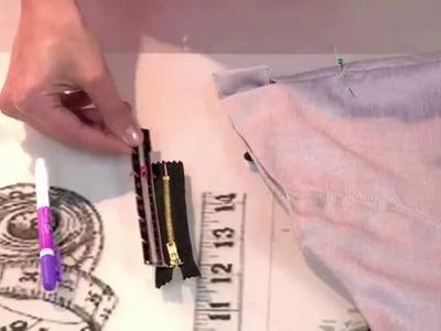 DIY Mode: Décorer et modifier ses vêtements en ajoutant des zippers!