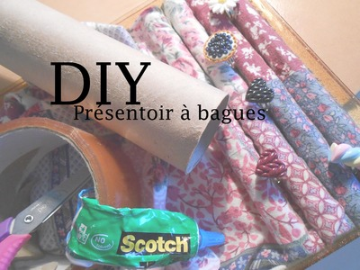 DIY - Présentoir à bagues (Rings stand - English Subtitles)