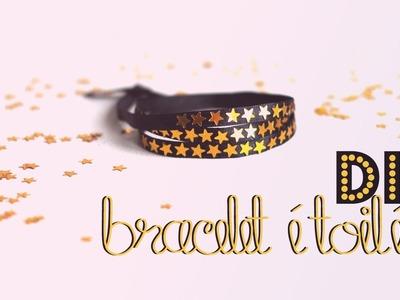 DIY # TUTO Bracelet étoilé - bijou festif. idée de cadeau de Noël