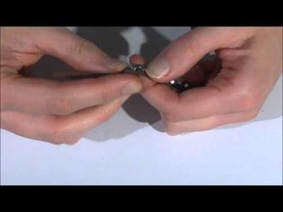 Les créas de No - DIY Bracelet écrous et breloques