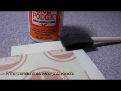 Transformez des carreaux de carrelage en dessous de verres - DIY Maison - Guidecentral