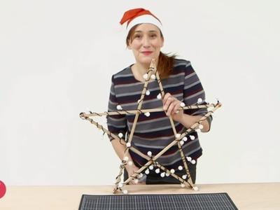 [DIY] Créer son étoile lumineuse pour Noël #CCVB