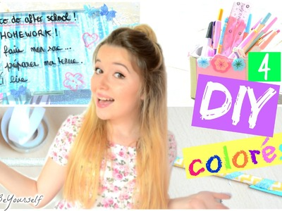 4 DIY DE LA RENTREE (back to school) | BeYourself