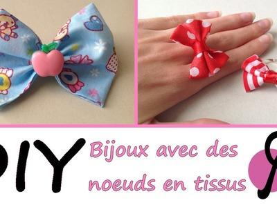 DIY #3 - Comment réaliser des bijoux avec des noeuds en tissus [PimPomPerles.fr]