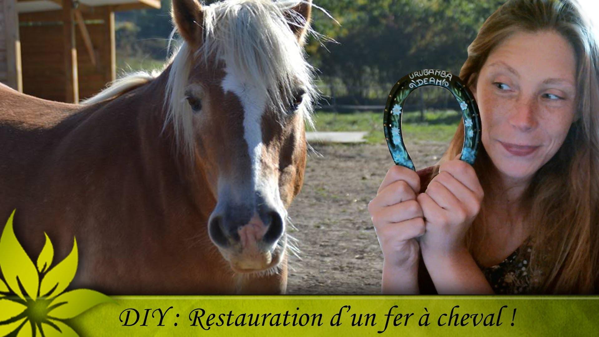 [DIY] Décoration d'un fer à cheval