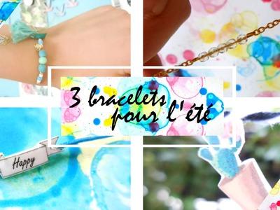 ✄ DIY : des bracelets pour l'été !