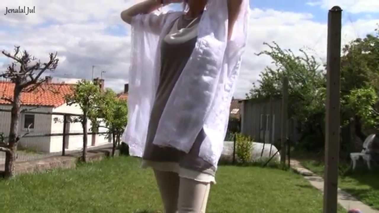 DIY Kimono de plage pour l'été