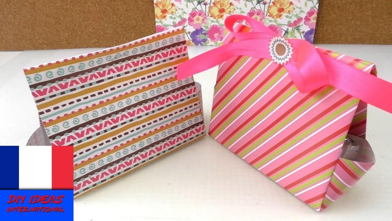 DIY Petits emballages cadeaux à plier pour le calendrier de l'Avent | de l'anniversaire à Noël