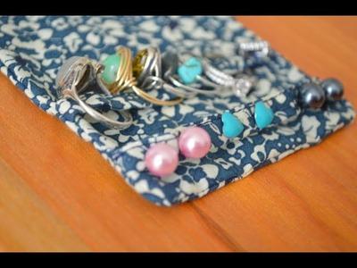 DIY - Pochette bijoux