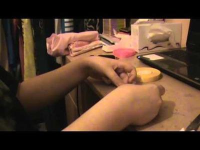 DIY {Rangements} #2, Rangement.Présentoire murale pour maquillage ou boucles d'oreille.