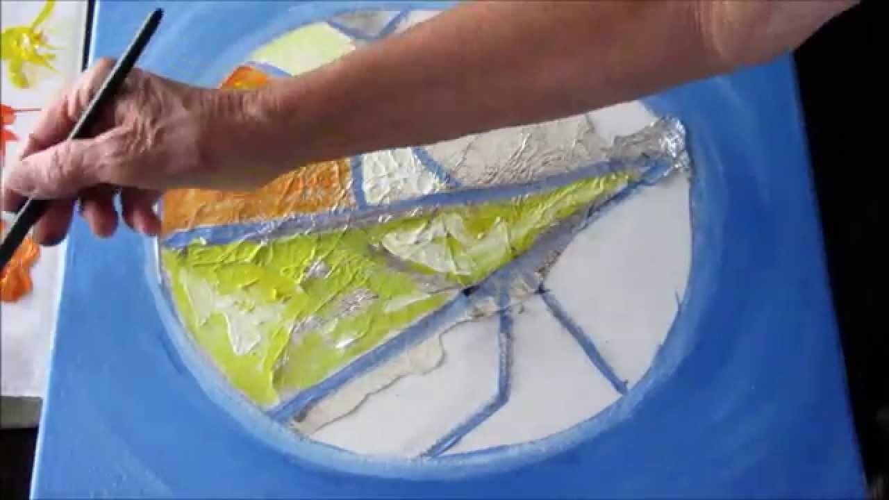 DIY réalisation tableau vitrail avec By Miss Infini