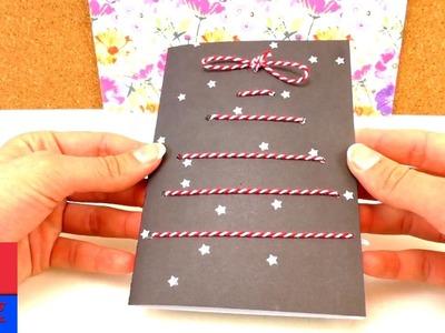Faire soi-même une carte de Noël. DIY carte de voeux. Fêtes de fin d'année