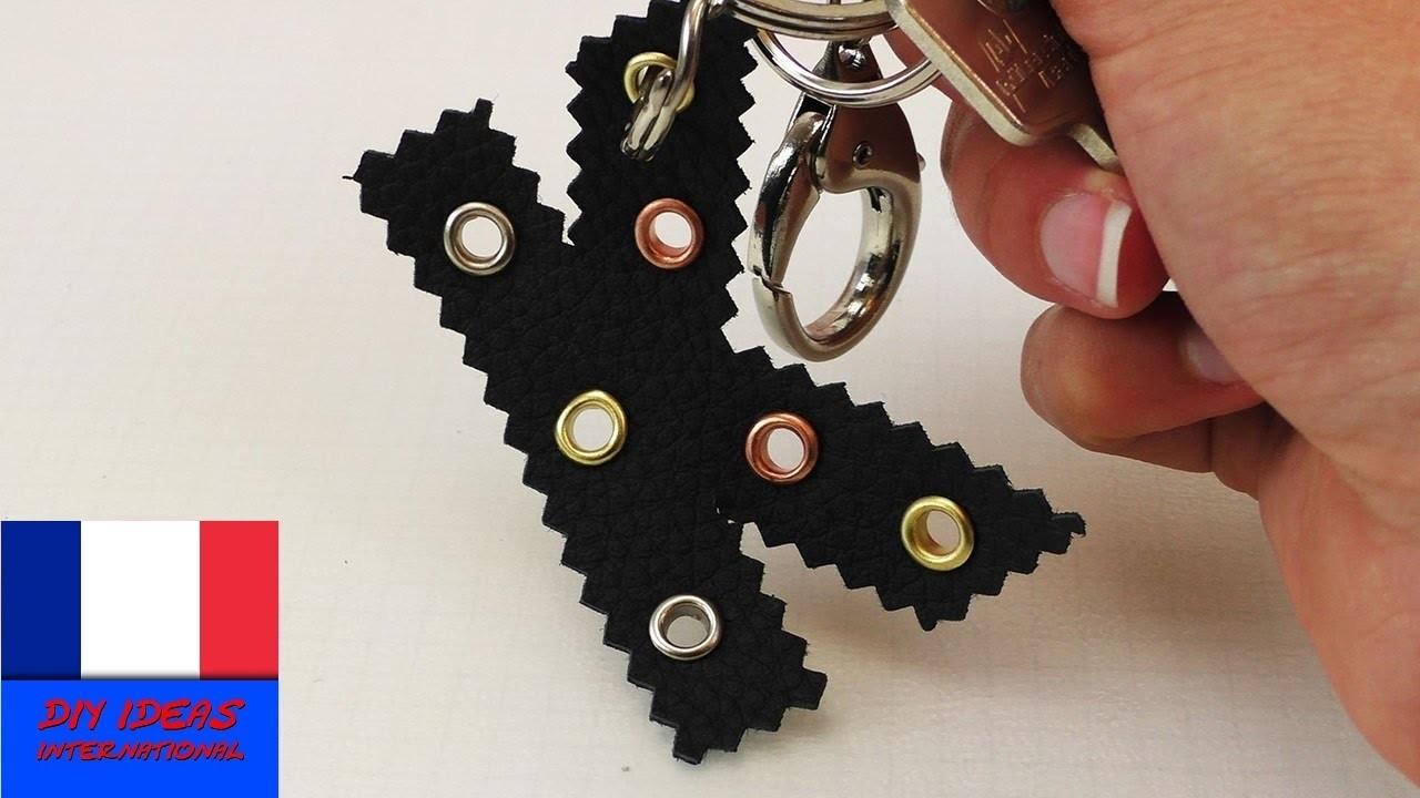 porte cl s diy en forme de lettre faire soi m me un porte. Black Bedroom Furniture Sets. Home Design Ideas